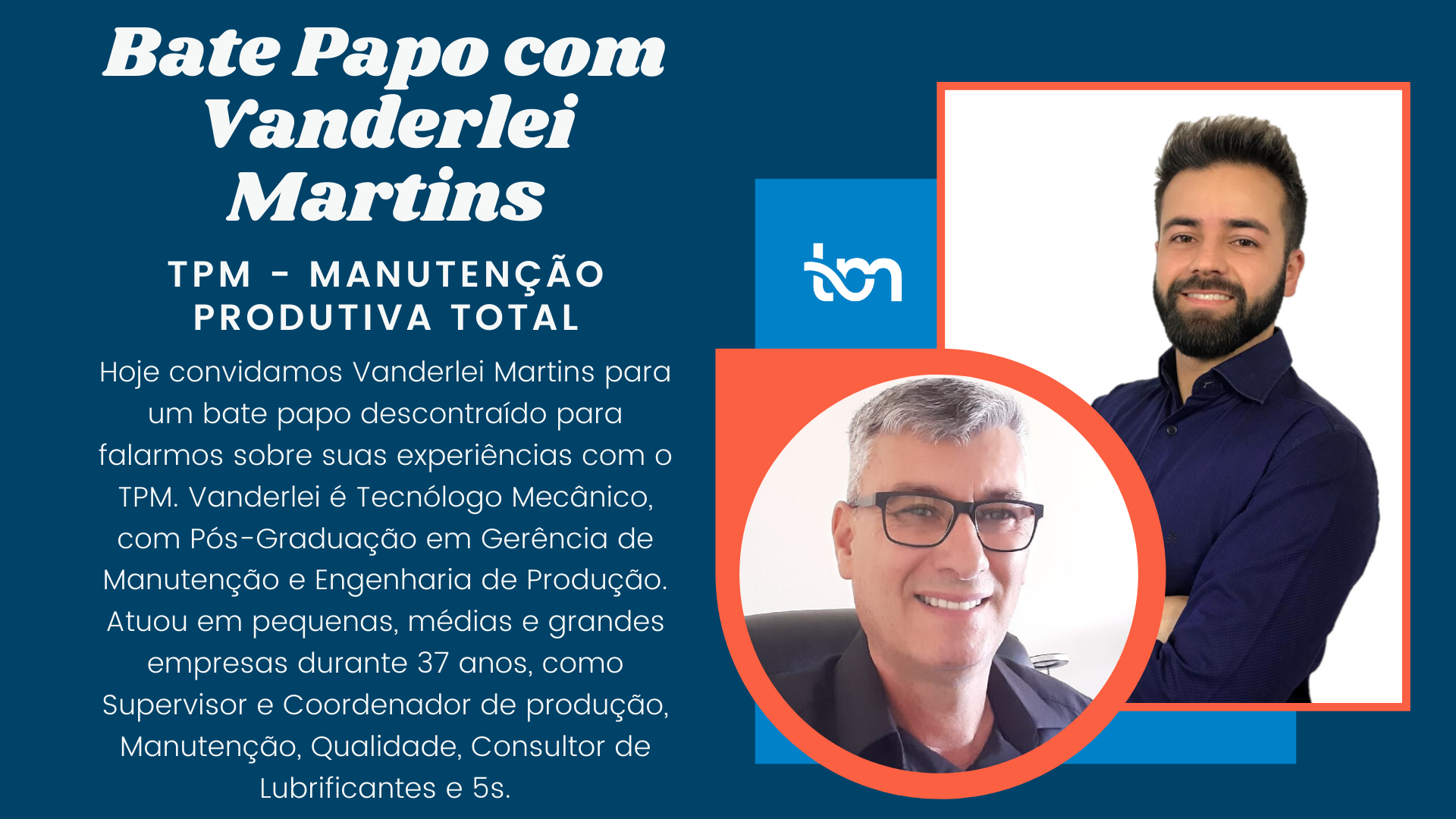 Bate Papo com Vanderlei Martins